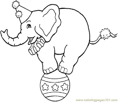 Stunning Design Clown Coloring Pages Free Printable Page Circus Circus Coloring Page