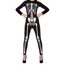 womens skeleton jumpsuit womens skeleton costume ebay