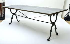 wonderful wrought iron dining room table base photos best idea