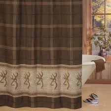 Outdoors Shower Curtain by Browning Buckmark Towel And Shower Curtain Set Tan Texas Big
