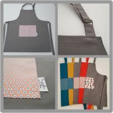 tablier de cuisine fait tablier de cuisine gris et motifs chats tablier de cuisine