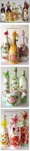 decoupage home decor 86 best botellas y mas images on pinterest decorated bottles
