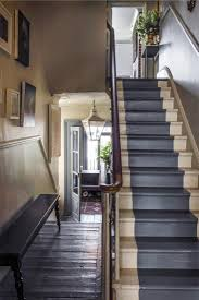 Painting A Banister Black The 25 Best Painted Stairs Ideas On Pinterest Painting Stairs