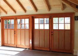 Garage Door Conversion To Patio Door Swing Out Carriage Doors Made By Evergreen Carriage Doors