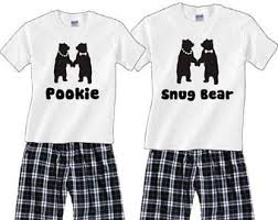 his and hers pajamas etsy