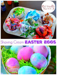 Decorating Easter Eggs With Rice And Food Coloring by How To Dye Easter Eggs With Shaving Cream Or Whipped Cream