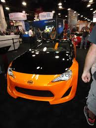frs custom custom orange frs better automotive lighting