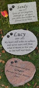 engraved memorial stones personalized pet dog cat paw print memorial cemetery grave marker