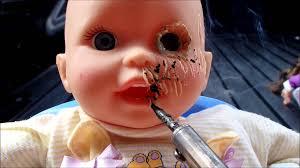 Scary Baby Doll Halloween Costume Halloween