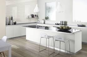 Kitchen Splashback Tile White Kitchen With Glass Splashback Kitchen Small Kitchen Design