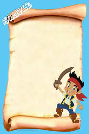 pirate birthday invitations jake neverland pirates