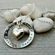 childrens name necklace necklaceday popular beautiful necklaces