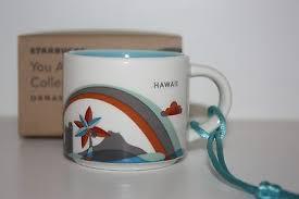 new 2013 starbucks hawaii you are here 2oz ceramic coffee mug