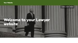 lawyer website templates godaddy