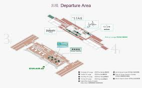Sea Airport Map Lounges Eva Air America