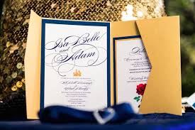 and the beast wedding invitations and the beast themed wedding central the colors in