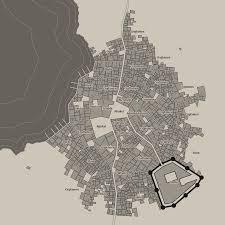 Map Generator D D 0 4 0 Coastal Cities Medieval Fantasy City Generator By Watabou