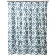 blue brown shower curtain foter