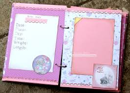 baby girl photo album baby girl album record book