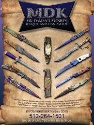 Unique Knives Unique Handmade Custom Knives By Mr Damascus Knives