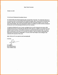 thank you letter scholarship u2013 cover letter examples with thank