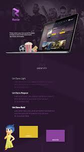rattle movies website on behance