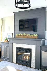 modern fireplace surrounds surround ideas block cast concrete