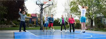 Build A Basketball Court In Backyard New Home Sport Court Of Massachusetts