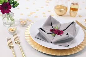 Decorative Napkin Folding Easy Napkin Folding Techniques That Will Impress Ftd Com