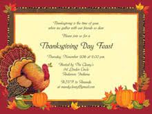 dinner sle thanksgiving invitation festival collections