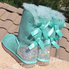 light purple bailey bow uggs swarovski crystallized ugg boots bling from twiggy tiger lily