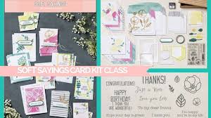 debbie s designs soft sayings card kit and thailand goodies