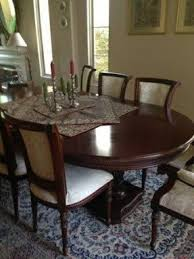 Dining Room Tables Set oval dining table set for 6 foter
