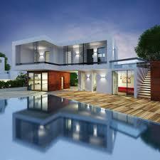 inside home design news wonderful white brown wood glass modern design pool inside home