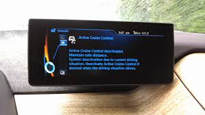 lexus key stuck in acc the electric bmw i3 bmw i3 overactive active cruise control