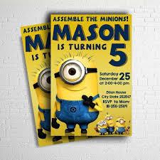 the 25 best minion birthday invitations ideas on pinterest