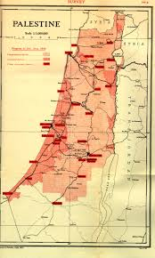 Palestine On World Map by Mandate For Palestine Palestine Royal Commission Peel