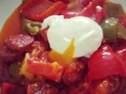 recette cuisine sur tf1 midi piperade au chorizo par marylinec