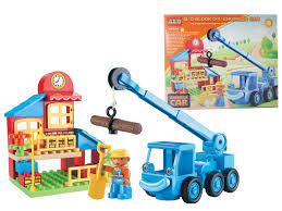 bob builder toy bricks construction truck