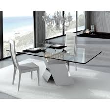 Fascinant Solde Table A Manger Fascinant Table A Manger Verre De Salle Moderne Pied Metal En X