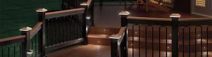 deck lighting guide installation step light installation