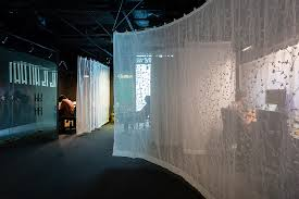 Gamma Curtain Wall Atelier Tho A Drapes Gamma U0027s Office Space With Translucent U0027fabric