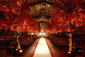 fall wedding fall wedding aisle decoration viewwedwebtalks wedwebtalks