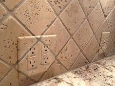 travertine light switch plates installed travertine marble light switch cover plate kitchen
