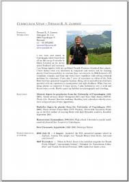 Sample Latex Resume Writing A Cv In Latex Tjansson Dk