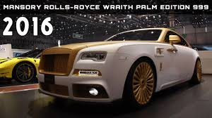 rolls royce mansory 2016 mansory rolls royce wraith palm edition 999 review rendered