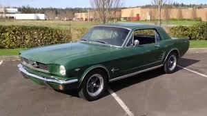 1966 ford mustang youtube