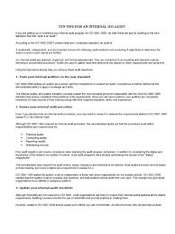 10 tips for iso internal audit audit iso 9000