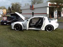 white rx8 2005 mazda rx 8 specs photos modification info at