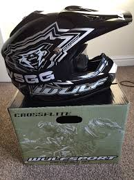 kids motocross helmets wulf kids motocross helmet in barnsley south yorkshire gumtree